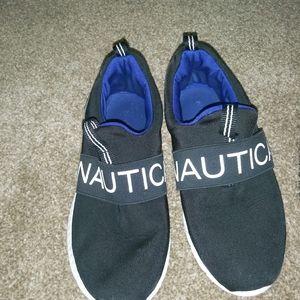 Boys Nautica slip on!!